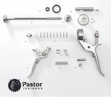 Repuestos Jeringa Plásrica Dial Pastor